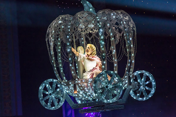 Cinderella S Flying Coach Magical Special Effects For