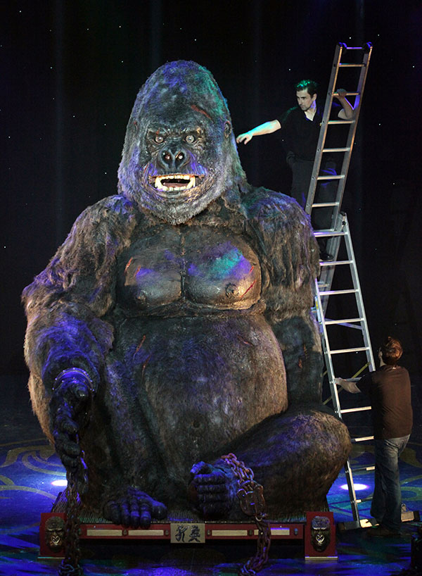 Special Effects Animatronics Little Ernie The Gorilla