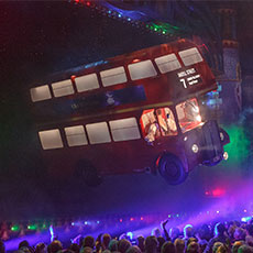 Flying London Bus