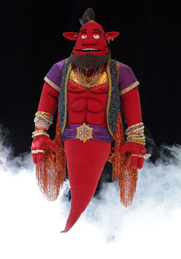 Special Effects Animatronics For Hire Aladdin S Genie For