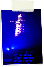 Dalek flying - Dr Who special effect
