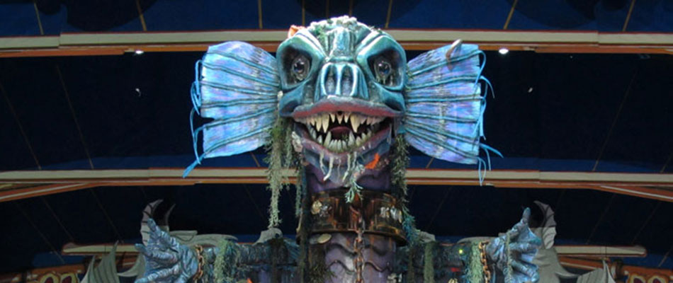 Special Effects Animatronics For Pantomimes Bespoke