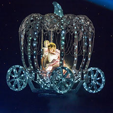 Cinderella's Flying Coach - special effects for pantomimes