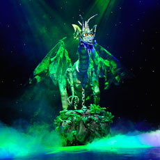 Animatronic Dragon for QDOS Entertainment